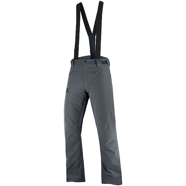 Salomon Stance Mens Ski Pants 2022, Ebony, 600