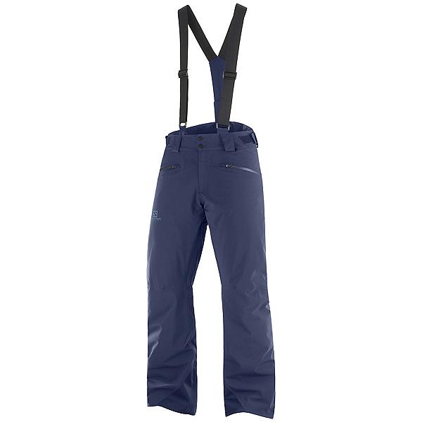 Salomon Force Mens Ski Pants, Night Sky, 600