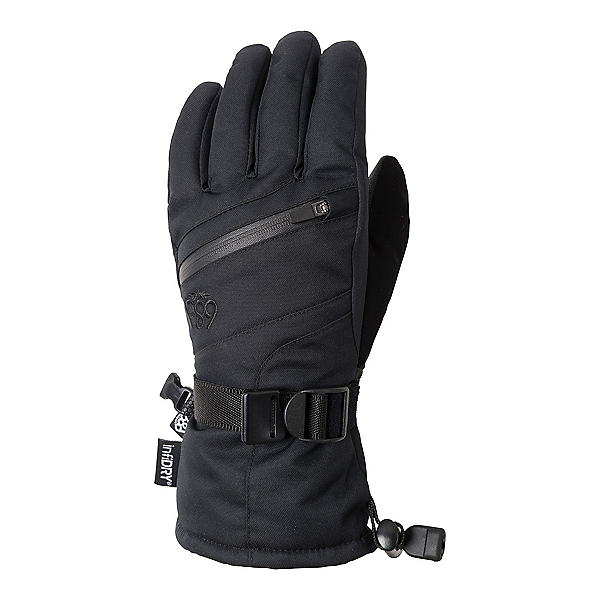 686 Heat Insulated Kids Gloves, Black, 600