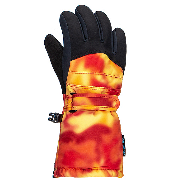 Gordini Prima Toddlers Gloves, Orange Tie Dye, 600