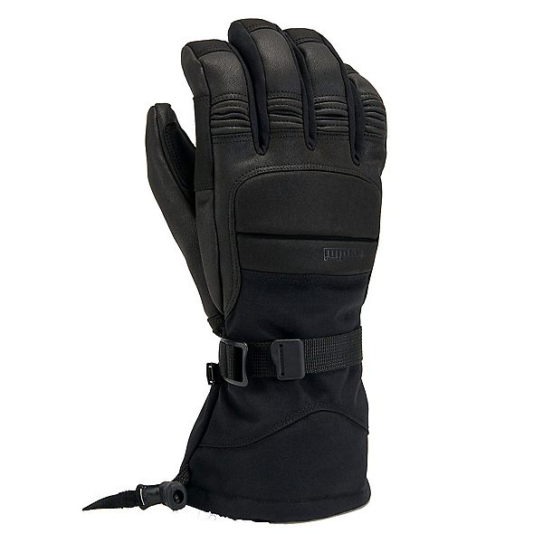 Gordini Cache Gauntlet Gloves, Black, 600