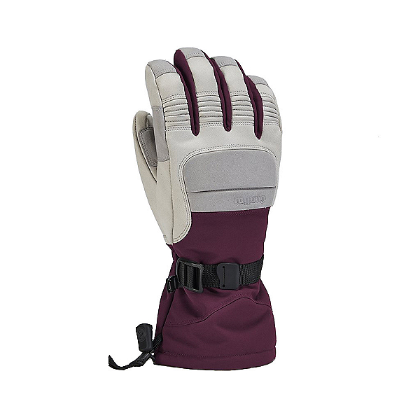 Gordini Cache Gauntlet Womens Gloves, Light Grey Potent Purple, 600