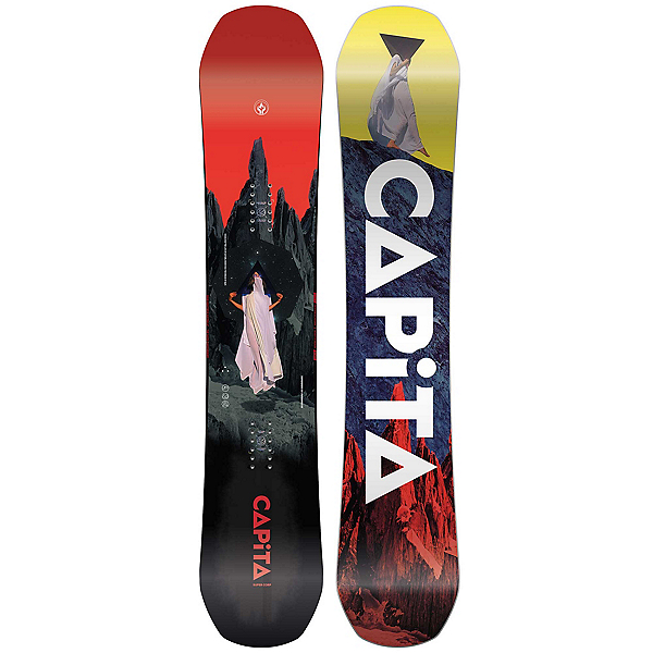 Capita Defenders of Awesome Snowboard, 150cm, 600