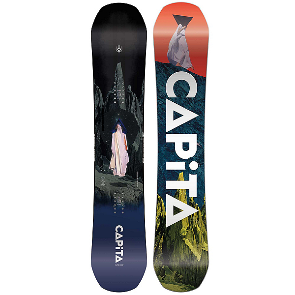 Capita Defenders of Awesome Wide Snowboard, 153cm Wide, 600