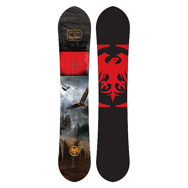 Never Summer West Bound Wide Snowboard 2021, , 600
