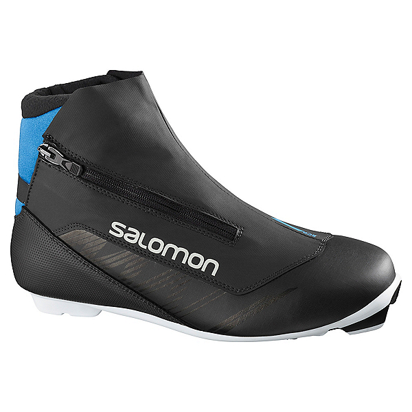 Salomon RC8 Nocturne Prolink NNN Cross Country Ski Boots, Black, 600