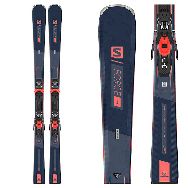Salomon S/Force Fever Womens Ski with M10 GW Bindings 2021, , 600