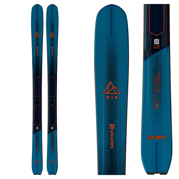 Salomon MTN Explore 95 Skis 2021, , 600
