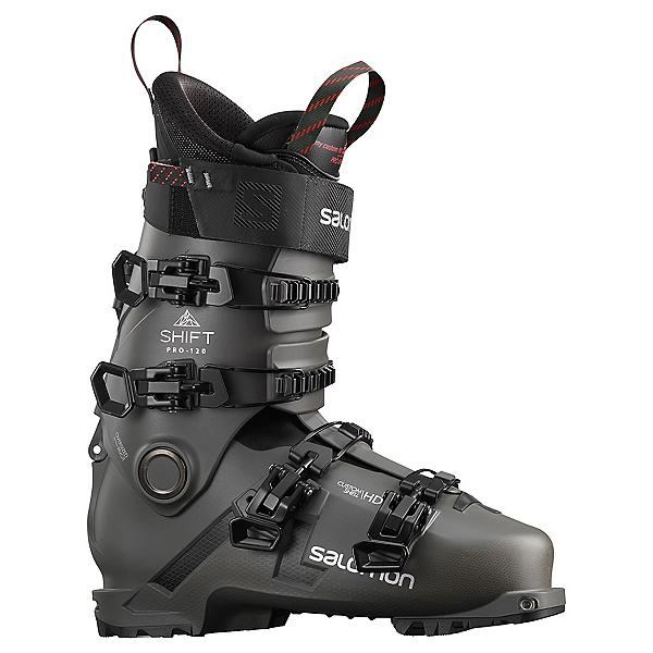 Salomon Shift Pro 120 AT Ski Boots, Belluga-Black-Silver, 600