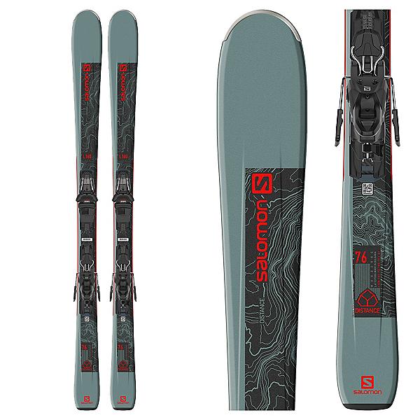 Salomon Distance 76 Skis with M10 GW Bindings, , 600