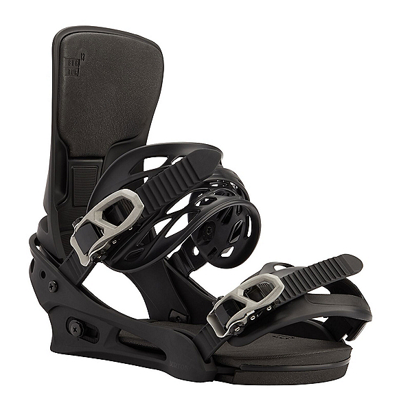 Burton Cartel X Re:Flex Snowboard Bindings, Black, 600