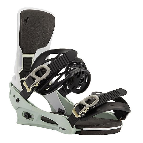 Burton Cartel X Re:Flex Snowboard Bindings, Neo Mint-White, 600