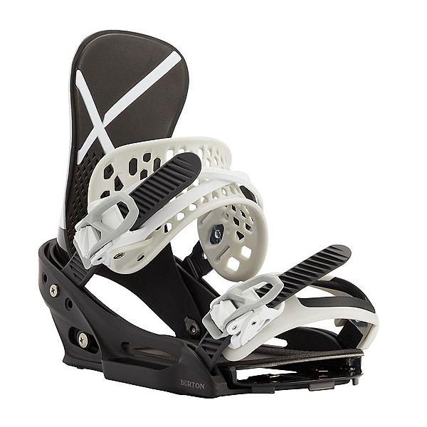 Burton X EST Snowboard Bindings 2022, White-Black, 600