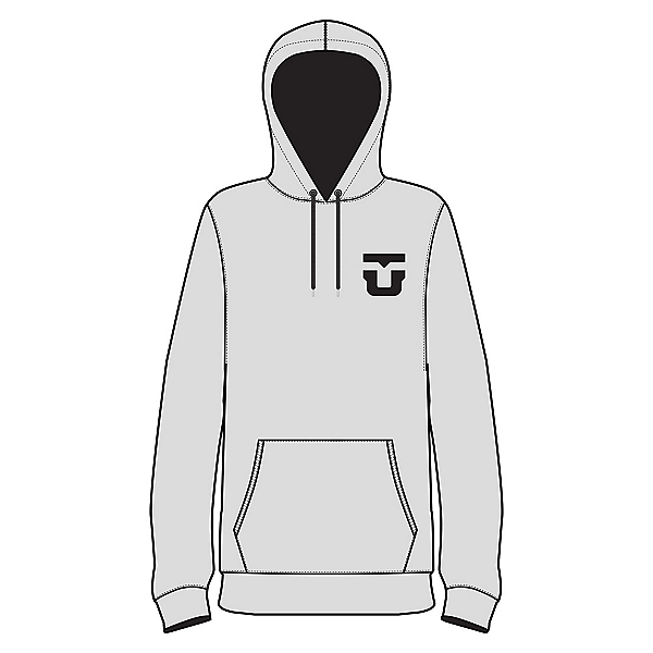 Union Team Hoodie, Heather Grey, 600