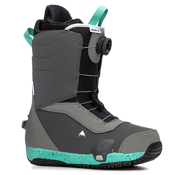 Burton Ruler Step On Snowboard Boots, Gray-Teal, 600