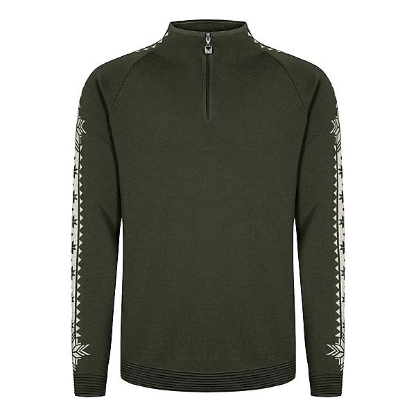 Dale Of Norway Geilo Mens Sweater, Darkgreen-Offwhite, 600