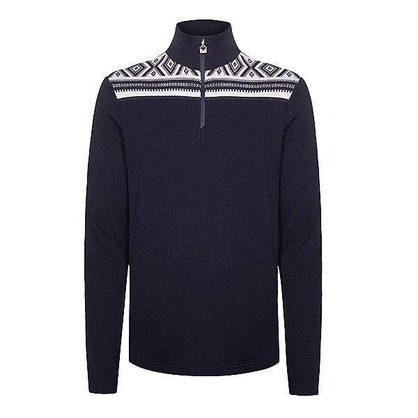 Dale Of Norway Cortina Basic Mens Sweater, Navy-Offwhite, 600