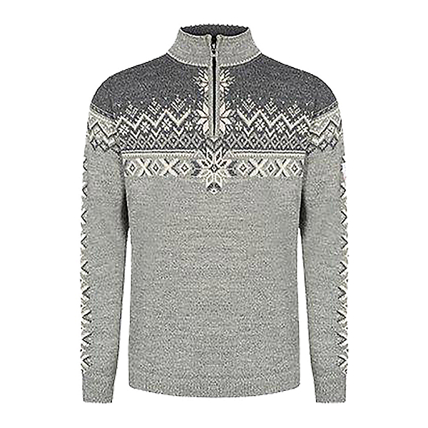 Dale Of Norway 140th Anniversary Mens Sweater 2022, Lightcharcoal-Smoke-Offwhite, 600
