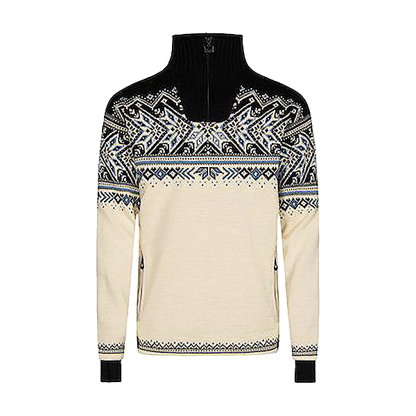 Dale Of Norway Vail Weatherproof Mens Sweater, Offwhite-Smoke-Navy-Blue, 600