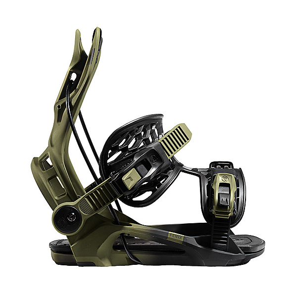 Flow Fenix Snowboard Bindings, Green, 600