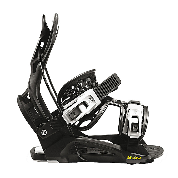 Flow Micron Youth Kids Snowboard Bindings, , 600