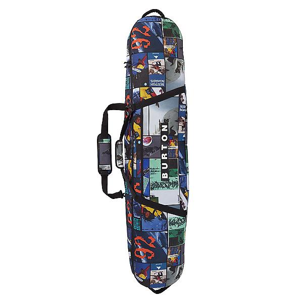 Burton Gig Bag Snowboard Bag 2022, Catalog Collage Print, 600