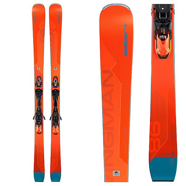 Elan Wingman 86 Ti Skis with EMX 11.0 GW Bindings, , 600