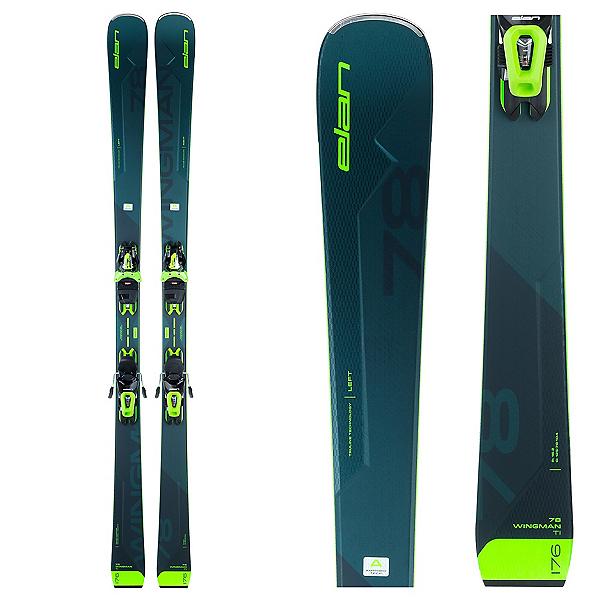 Elan Wingman 78 Ti Skis with ELS 11.0 GW Bindings, , 600