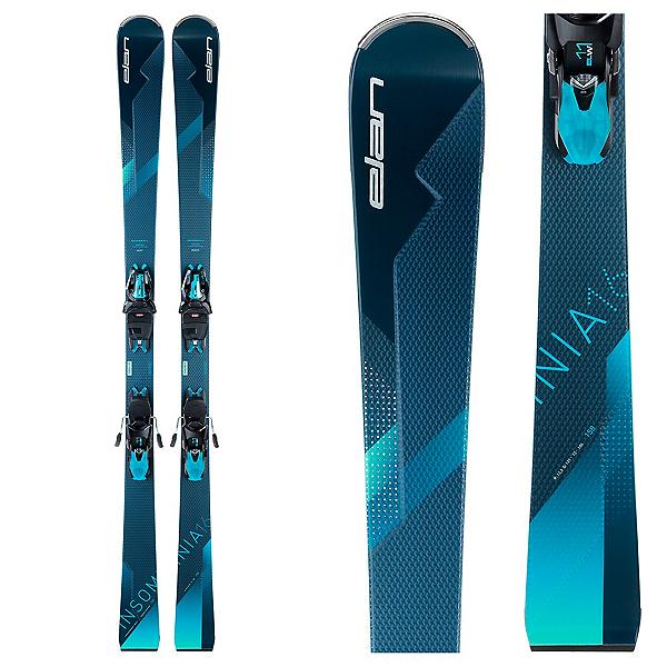 Elan Insomnia 16 Ti Womens Skis with ELW 11.0 GW Bindings, , 600