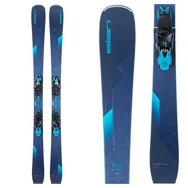 Elan Wildcat 82 CX Womens Skis with ELW 11 GW Shift Bindings, , 600