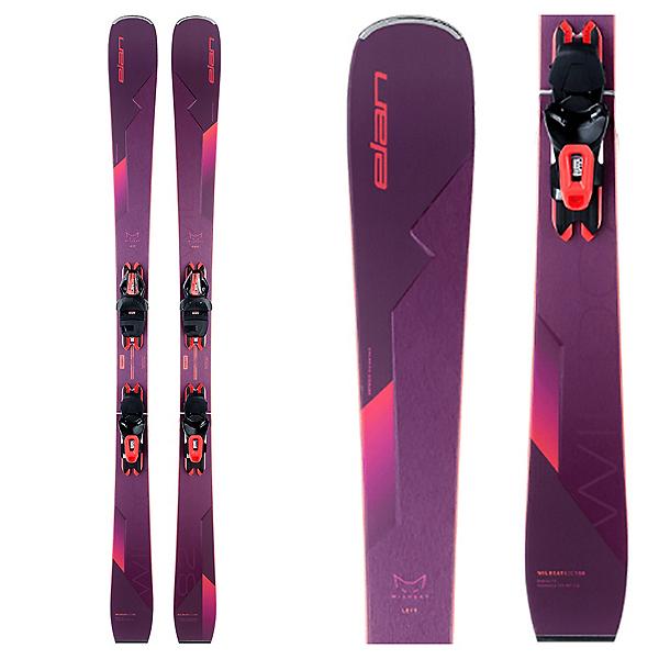 Elan Wildcat 82 C Womens Skis with ELW 9 GW Shift Bindings 2022, , 600