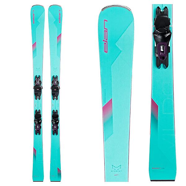 Elan Wildcat 76 Womens Skis with ELW 9 GW Shift Bindings 2022, , 600