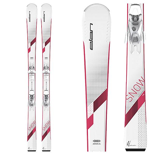 Elan Snow Womens Skis with EL 7.5 GW AC Shift Bindings, , 600