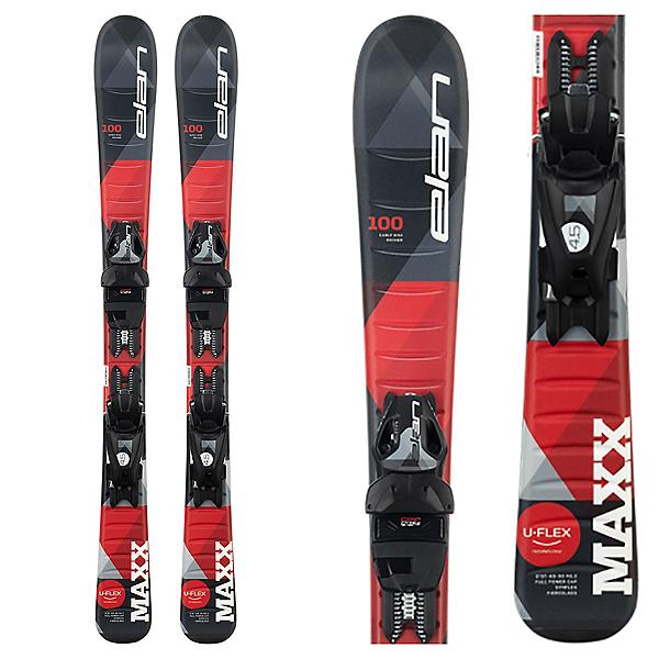 Elan Maxx Kids Skis with EL 4.5 GW Shift Bindings, , 600