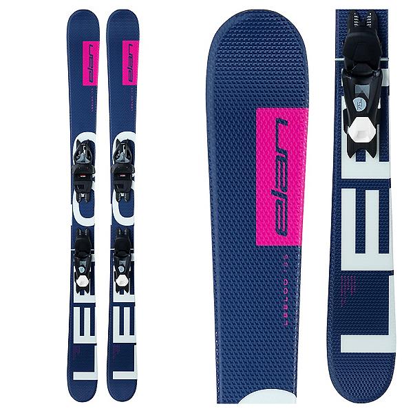 Elan LeeLoo Kids Skis with EL 7.5 GW Shift WB Bindings 2022, , 600
