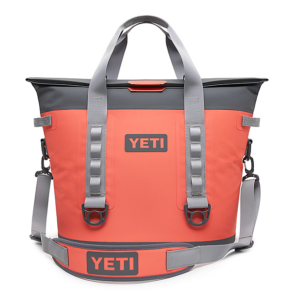 YETI Hopper M30 Soft Cooler 2020, Coral, 600
