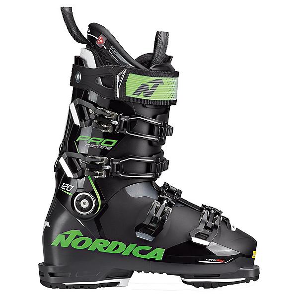 Nordica Promachine 120 Ski Boots, Black-Anthracite-Green, 600