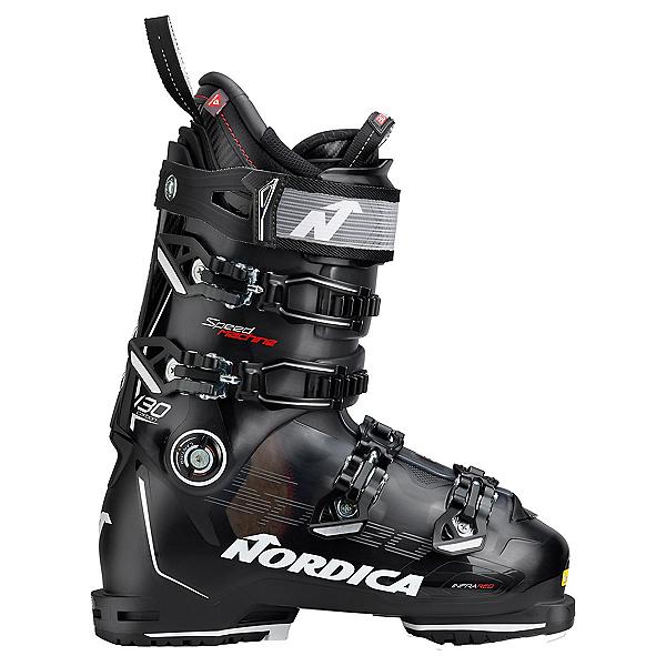 Nordica Speedmachine 130 Carbon Ski Boots, Black-White, 600
