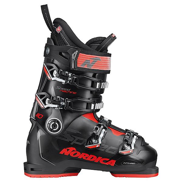 Nordica Speedmachine 110 Ski Boots, Black-Anthracite-Red, 600