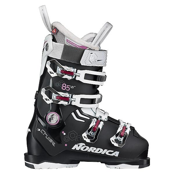 Nordica Cruise 85 Womens Ski Boots, Black-White-Purple, 600
