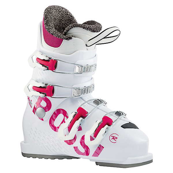 Rossignol Fun Girl J4 Girls Ski Boots, White, 600