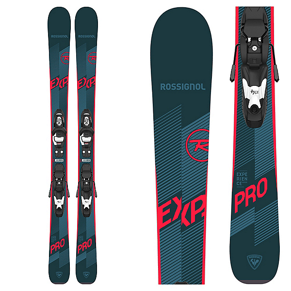 Rossignol Experience Pro S Kids Skis with Kid 4 GW Bindings, , 600