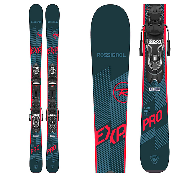 Rossignol Experience Pro L Kids Skis with Xpress 7 GW Bindings, , 600