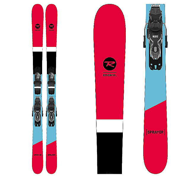 Xpress 10 Bindings Rossignol Sprayer Skis 2021-148 cm