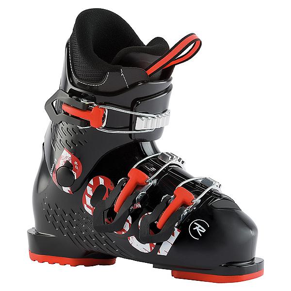 Rossignol Comp J3 Kids Ski Boots, Black, 600
