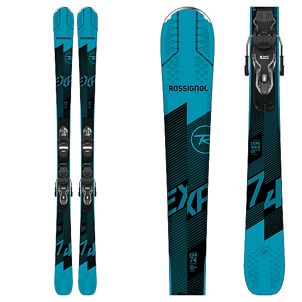 Rossignol Experience 74 Skis with Xpress 10 GW Bindings 2021, , 600