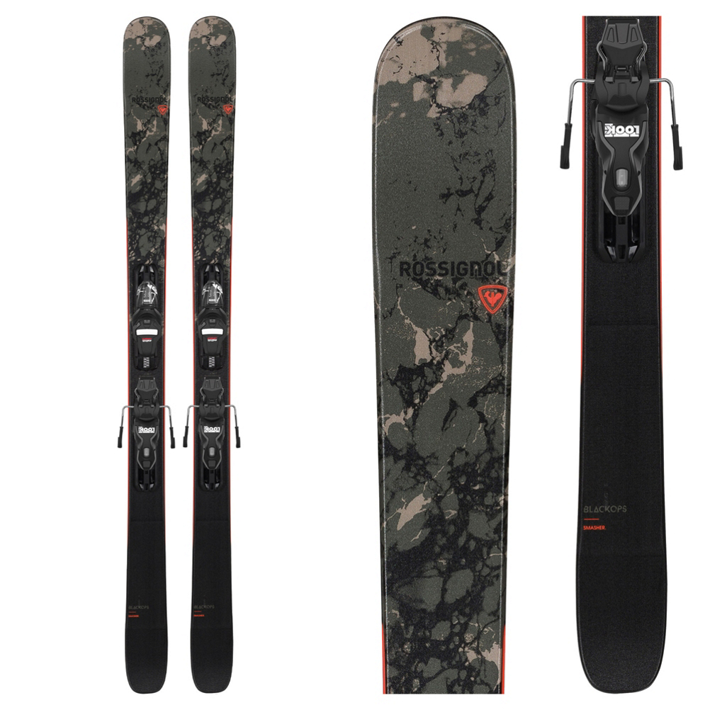 Rossignol Black Ops Smasher Skis with Xpress 10 GW Bindings