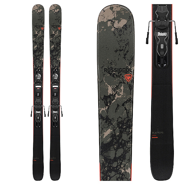 Rossignol Black Ops Smasher Skis with Xpress 10 GW Bindings, , 600