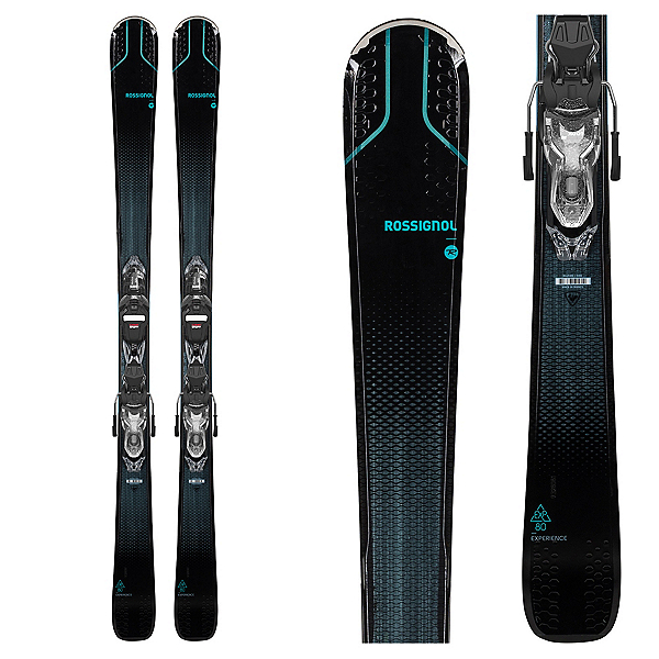 Rossignol Experience 80 CI Womens Skis with Xpress 11 GW Bindings, , 600