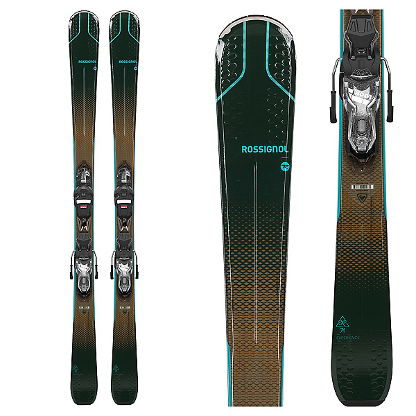 Rossignol Experience 74 Womens Skis with Xpress 10 GW Bindings, , 600
